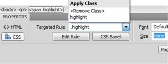CSS Properties Inspector