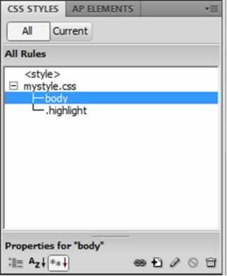CSS Styles Merged in an External Stylesheet