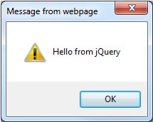 Hello From jQuery