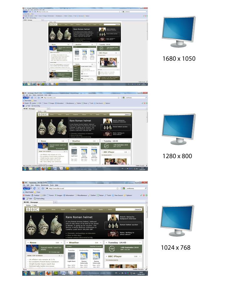 Fixed Layout Screen shots